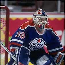 Edmonton Oilers' Bill Ranford