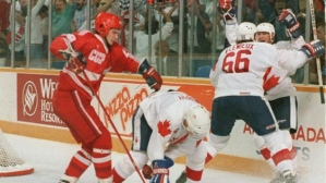 Canada Cup, 1987. From cbc.ca
