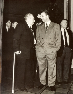 Tarasov with Fetisov. From Mongrel Media