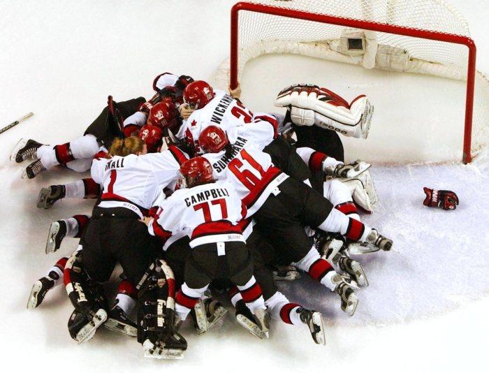Canada women's team Olympics