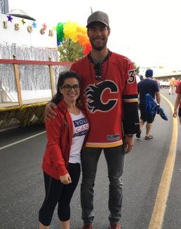Cheryl and Eddie Lack: Calgary Pride 2017